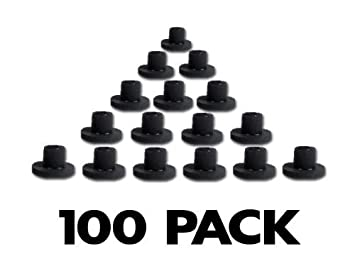 Amazoncom Tattoo Machine Rubber Nipples Half Grommets 100pk By
