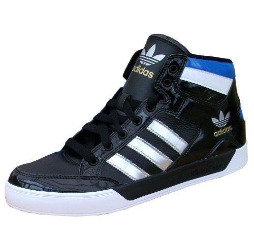 adidas - Zapatillas de deporte para hombre - noir/ argent métallique / blanc / bleu