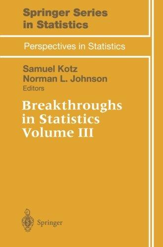 Breakthroughs in Statistics (Springer Series in Statistics)