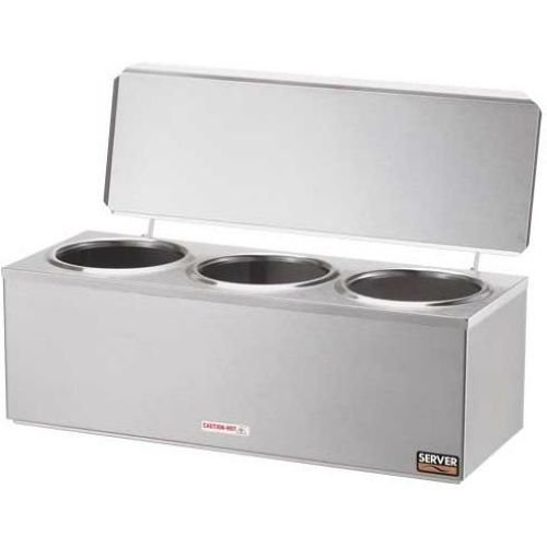 ne Heated Dip Server w/ Hinged Lid, DI-3 92040 (Dip Warmer Server)
