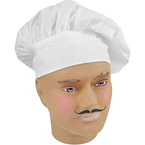 [Jacobson Hat Company Men's Chef Hat, White, Adult] (Mens Chef Costumes)