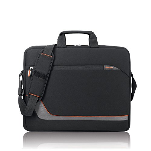 Solo Urban 17.3 Inch Laptop Slim Brief, Black (Laptop Business Case Urban)