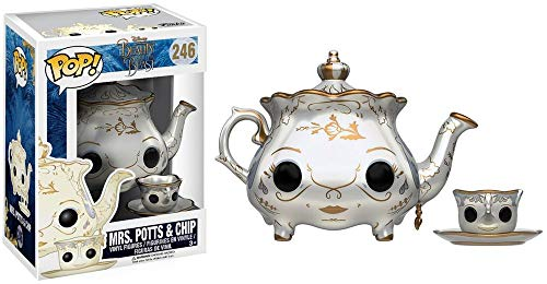 Funko - Beauty & The Beast Mrs Potts & Chip Figurinas de Vinilo, Color Multicolor (Funko 12321)