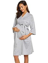 c599cc7fd484f Maternity Robe, Labor Delivery Hospital Gown Nursing Nightgowns Bathrobe