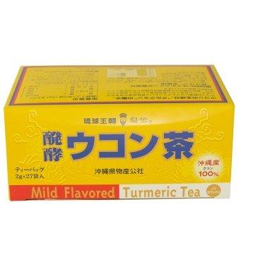 醗酵ウコン茶 2g×27包×16箱 琉球バイオリソース 乳酸醗酵させたクルクミン豊富な秋ウコンの香ばしいハーブティー B074V4L18S 16箱  16箱