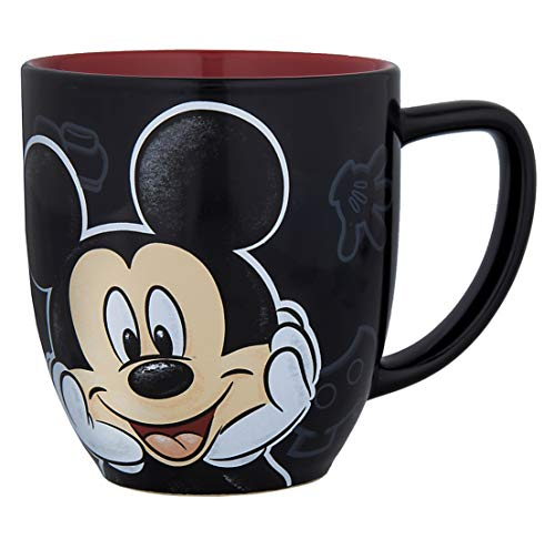 Disney Parks Mickey Mouse Portrait Face Ceramic Mug Cup -
