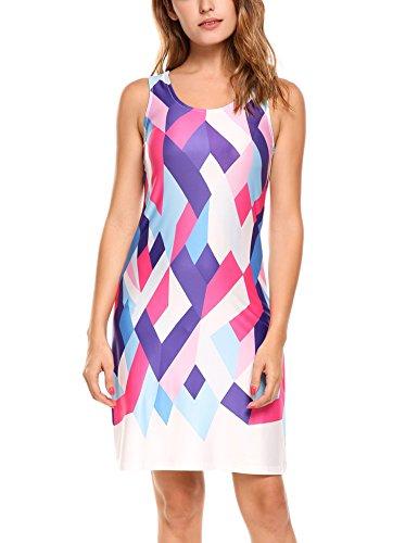 Buy beautiful short purple dresses - 7