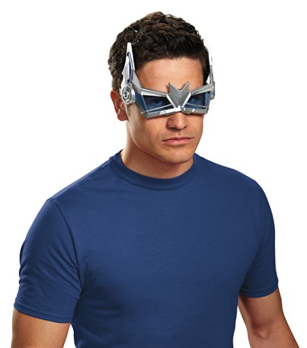 Optimus Prime Costumes Adults (Disguise Men's Optimus Prime Movie Glasses, Silver/Blue, One Size)