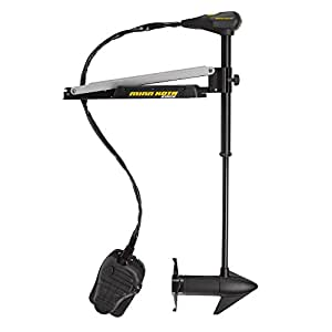 "MinnKota Edge 45 Bowmount  Foot Control Trolling Motor with Latch and Door Bracket (45lbs thrust, 36"" Shaft)"