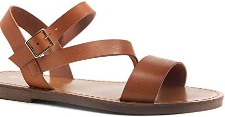 Herstyle Merina Women's Open Toes Ankle Strap Flat Sandals – The Super Cheap