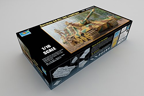 Trumpeter 1/16 000923 Special Purpose Vehicle, Model German 186 Jagdtiger Tank