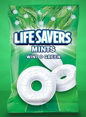 LifeSavers Wint O Green Mints - 50 oz. bag
