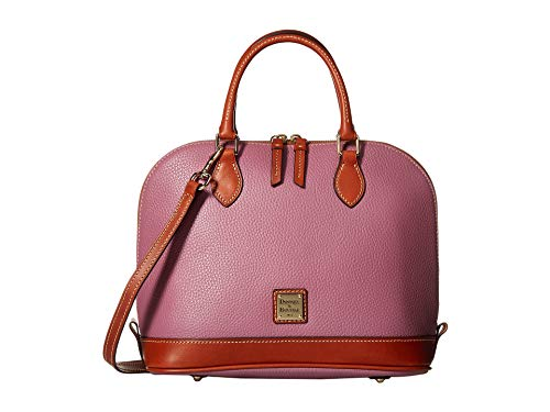 - Dooney & Bourke Pebble Grain Zip Zip Satchel