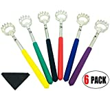 Product review for StaiBC Bear Claw Telescopic Back Scratcher with Soft Rubber Handles for Both Human and Pets Pack of 6