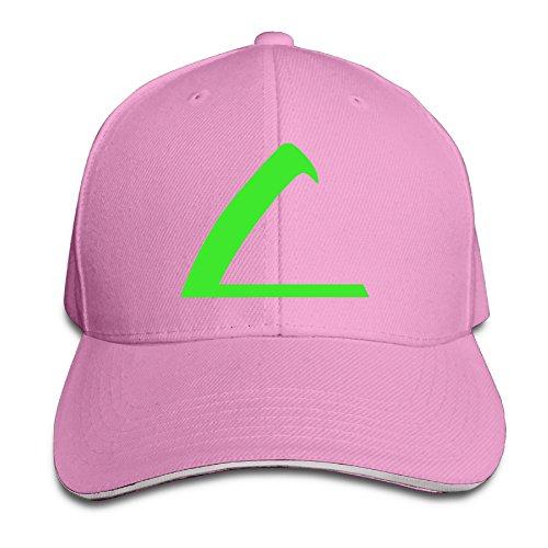 MayDay Pokemon Ash Ketchum Unisex Sandwich Hat Pink