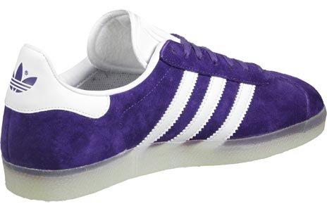 adidas Gazelle Scarpa purple/white