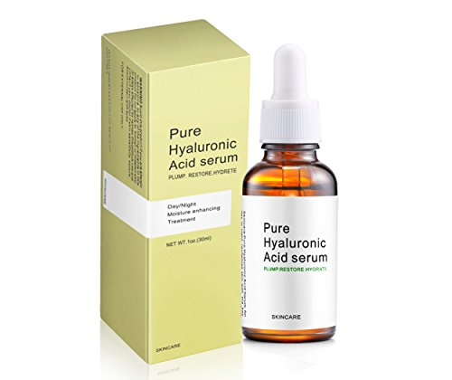 Termation Hyaluronic Acid Serum for Skin- 100% Pure-Highest Quality, Anti-Aging Serum- Intense Hydration + Moisture, Paraben-free-Best Hyaluronic Acid for Your Face 1 oz Hyaluronic Intense Moisture