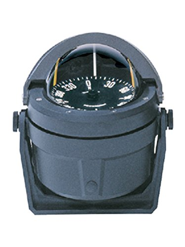 Ritchie F-83 Navigation Voyager Compass 3-Inch Dial with Flush Mount (Black)