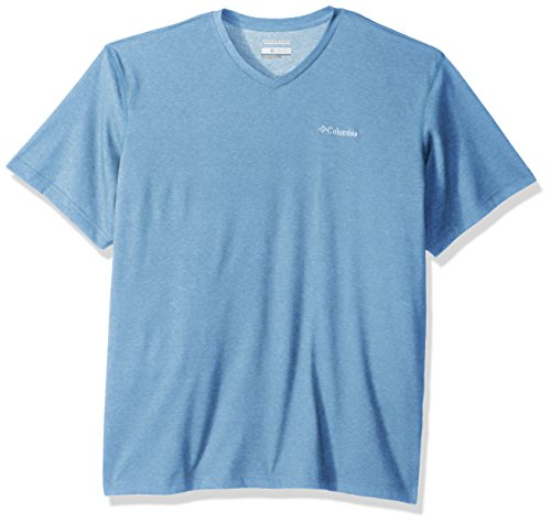 - Columbia Men's Thistletown Park V-Neck, air Heather, Large