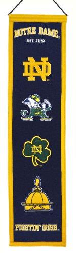 NCAA Notre Dame Fighting Irish Heritage Banner