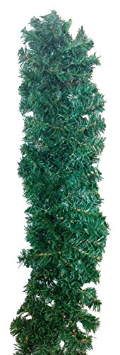 - Perfect Holiday 9' X 8 Inch Canadian Pine Artificial Christmas Garland - Unlit