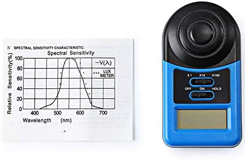 OKIl WHDZ LX1010A Digital 200,000 Lux Meter Illuminometer Photometer Lux Meter Light Meter Mini Pocket Size