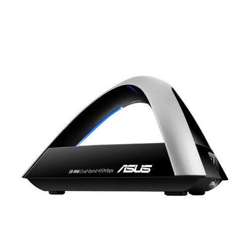 ASUS (EA-N66) Dual Band N450 Ultra-Fast Wireless 3-In-1 (AP, Repeater, Ethernet Adapter) Adapter With High-Power by Asus