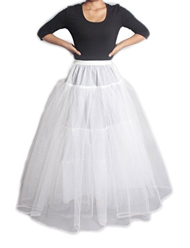 XYX Enaguas de la boda bridal dress crinoline petticoat vestido de novia wedding dress miriñaque underskirt 3 Layer without hoop