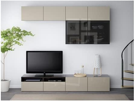 Ikea 18386.81129.146 Combinación de Almacenamiento de TV/Puertas ...