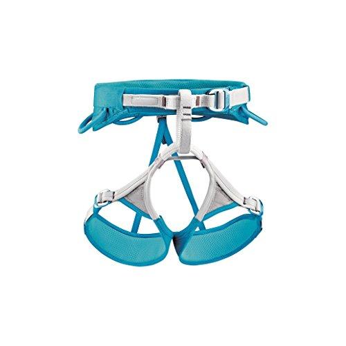 Petzl Luna Climbing Harness - Women's Turquoise / Grey