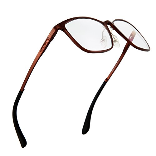 Gaming and Computer Reading Glasses Help Reduce Eye Fatigue, Strain - Anti-Blue Light and Radiation Protection - HD Clarity Lenses Unisex - Definition Lens Normal