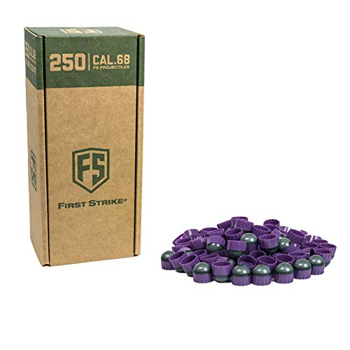 First Strike Paintballs (250 Count, Smoke/Purple Orange Fill) by First Strike