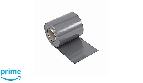 Noor Lámina de protección transparente de PVC para diferentes vallas de jardín, valla de malla de doble poste, valla metálica, valla de rejilla | gris | con ...