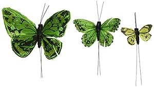 Beautiful Butterfly Cake Sets - Garden Charm Green