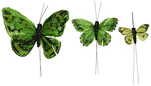 Beautiful Butterfly Cake Sets - Garden Charm Green