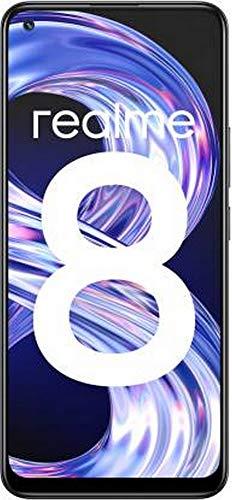 Realme 8 (Cyber Black, 6GB RAM, 128GB Storage)