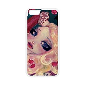 iPhone 6 Plus 5.5 Inch Cell Phone Case White Little Bria Rose Imijd