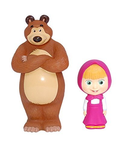 Masha and the Bear Bath Toy Set (5.5) by Masha and the Bear