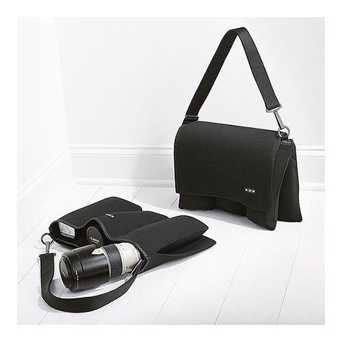 Black Shootsac Basic Shooters Lens Bag