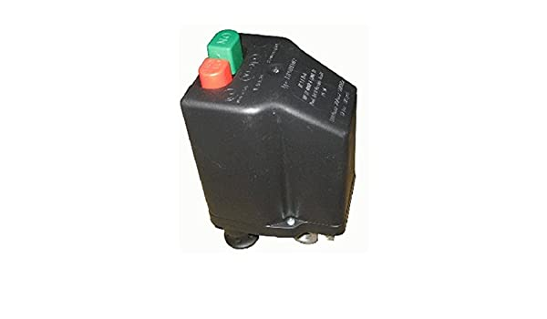 Presostato Italiano marca NE-MA para Compresores Trifásico de 6 a 10 Amp - Conenxión 1/4