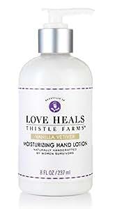 Thistle Farms Love Heal Moisturizing Hand Lotion, 8 fl.oz (Vanilla Vetiver)