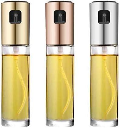 cuisine verre vaporisateurs dhuile dolive 100 ml flacon vaporisateur dhuile//vinaigre BBQ en spray /à huile pour friteuse air portable Pulv/érisateur /à huile vaporisateur pour huile de cuisine
