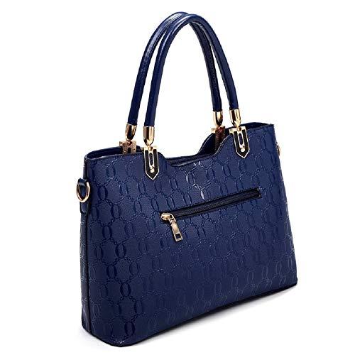 coloré Bleu Bleu Nouveau ZHRUI Diagonal Paquet qtnwIW6H
