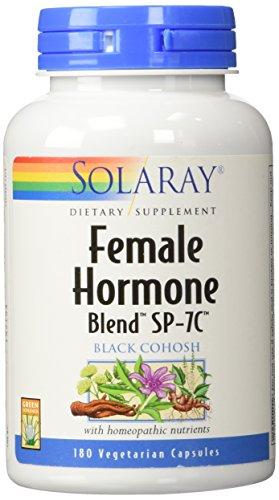 Female Hormone Blend - Solaray - Female Hormone Blend Sp-7c, 180 capsules (2 pck)