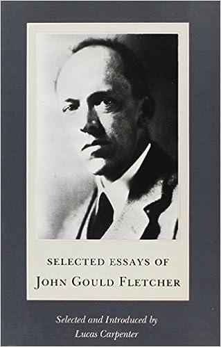 John Gould Fletcher poets