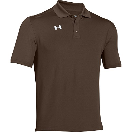 Under Armour Team Armour Men's Golf Polo (Cleveland Brown, Large) ()