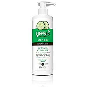 Yes To Cucumbers Gentle Milk Cleanser, 6 Fluid Ounce