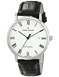 Claude Bernard Men's 80095 3 BR Classic Automatic Analog Display Swiss Automatic Black Watch