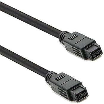 Apuxon FireWire 800 Cable(6ft) - IEEE 1394b 9 Pin to 9 Pin Male to Male Firewire Cord for Mac Pro, MacBook Pro, Mac Mini, iMac PC,Digital Cameras, SLR