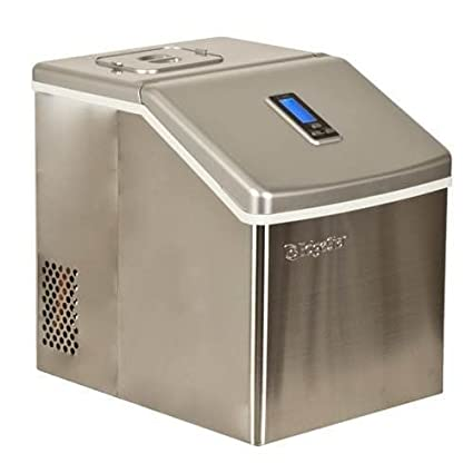 Superieur EdgeStar Portable Stainless Steel Clear Ice Maker   Stainless Steel